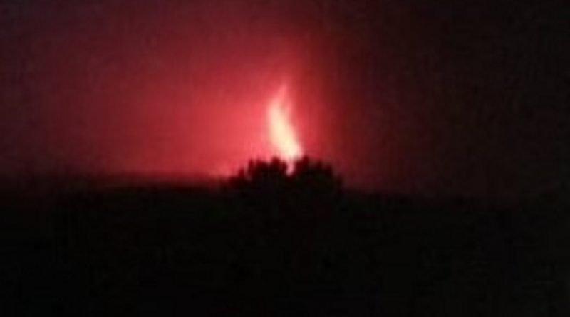 Cenere vulcanica sulle strade