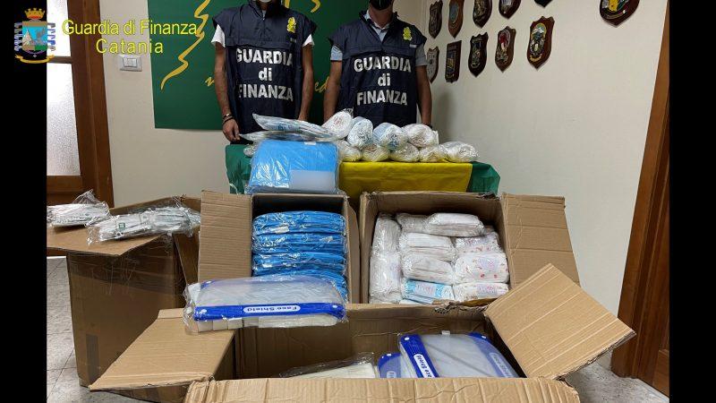 Sequestrate 24mila mascherine per bambini non sicure: un denunciato